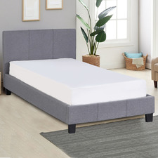 Grey Sienna Luxury Bed Frame