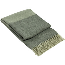 2 Tone Brighton New Zealand Wool Throw Rug