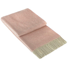 Kensington Merino Wool & Cashmere Throw Rug
