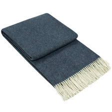 Kensington Merino Wool & Cashmere Throw Rug