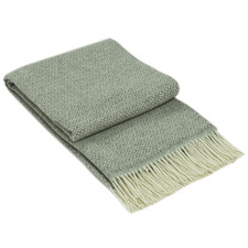 Notting Hill Fine Merino Wool-Blend Throw Rug
