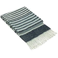 Stripe Richmond Wool-Blend Throw Rug