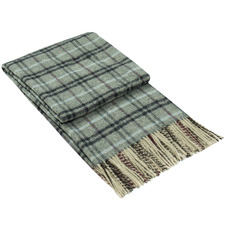 Checkered Richmond Wool-Blend Throw Rug