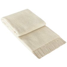 Soho Wool-Blend Throw Rug