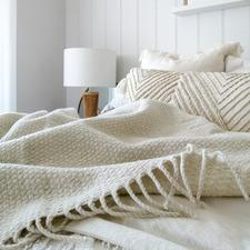 Soho Wool-Blend Throw Rug