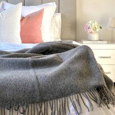 Brighton New Zealand Wool Throw Rug