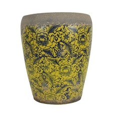 Tang High Fire Clay Rustica Tall Planter
