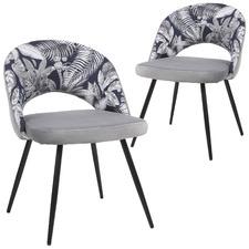 Rothwell Velvet Dining Chairs (Set of 2)