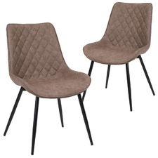 Payton Faux Leather Dining Chairs (Set of 2)
