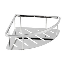 Triangular Stainless Steel Shower Caddy Shelf