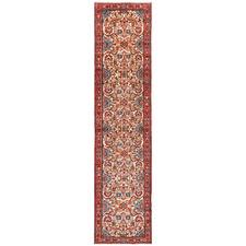 390 x 85cm Persian Hand-Knotted Wool Rudbar Runner