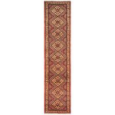 410 x 85cm Persian Hand-Knotted Wool Rudbar Runner