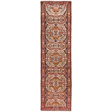 398 x 83cm Persian Hand-Knotted Wool Rudbar Runner