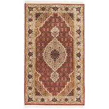 144 x 72cm Persian Hand-Knotted Wool Mahi Rug