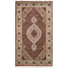 146 x 75cm Persian Hand-Knotted Wool Mahi Rug