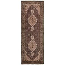 250 x 78cm Persian Hand-Knotted Wool Mahi Runner