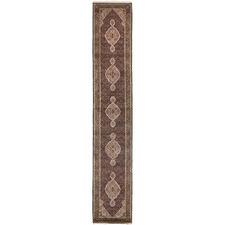 493 x 77cm Persian Hand-Knotted Wool Mahi Runner