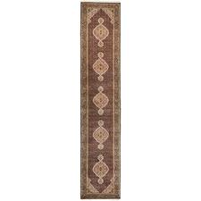 492 x 76cm Persian Hand-Knotted Wool Mahi Runner