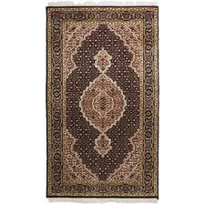 139 x 72cm Persian Hand-Knotted Wool Mahi Rug