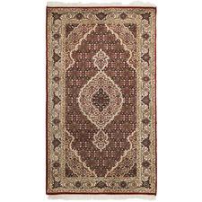 144 x 73cm Persian Hand-Knotted Wool Mahi Rug