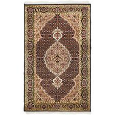 138 x 72cm Persian Hand-Knotted Wool Mahi Rug