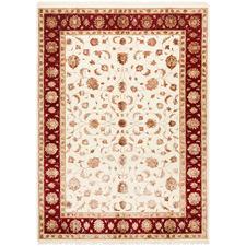 290 x 197cm Indian Hand-Knotted Wool & Silk Narayan Rug