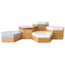 5 Piece Hex Scandi Box Set