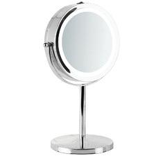 Chrome LED Vanity Mirror