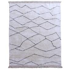 White Lopez Cotton Rug