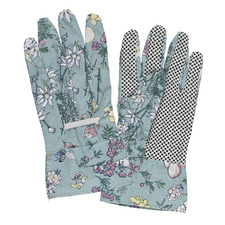 Flower Babies Linen Gardening Gloves (Set of 2)