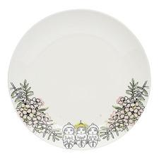 White Teatree 21cm Fine China Side Plate