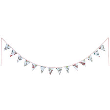 275cm Blue Blossom Cotton Bunting