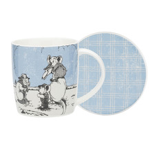 2 Piece Blue Blinky Bill Mug & Coaster Set