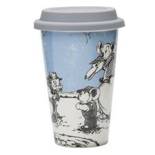 Blue Blinky Bill Double-Walled Travel Mug