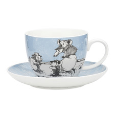 2 Piece Blue Blinky Bill Cup & Saucer Set