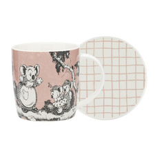 2 Piece Coral Blinky Bill Mug & Coaster Set