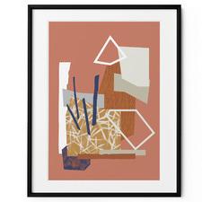 Indulge I Framed Print Wall Art