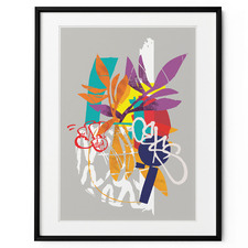 Graffiti Still Life Framed Print Wall Art
