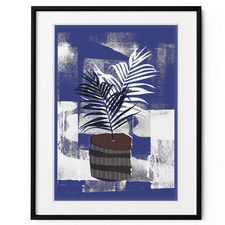 Pop of Flowers II Framed Print Wall Art