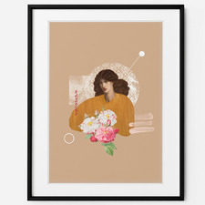 La Donna Della Finestra Framed Print Wall Art