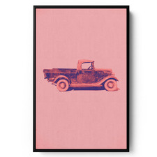 Chevrolet Roadster Framed Print Wall Art