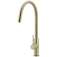 Tiger Bronze Gold Piccola Pull-Out Kitchen Mixer Tap