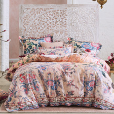 Pink All My Avignon Cotton Sateen Quilt Cover Set