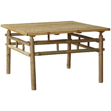 Natural Kusen Square Bamboo Outdoor Coffee Table
