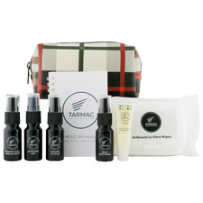 9 Piece Long Haul Spa Men's Grooming Kit
