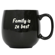 Peekaboo Family 380ml Ceramic Mug