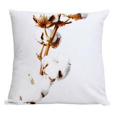 Dusk Branches Cotton Cushion