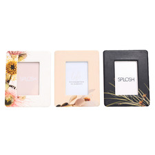 "3 Piece Flourish Mini 2 x 3"" Frames Set"