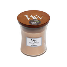 WoodWick Golden Milk Soy Candle