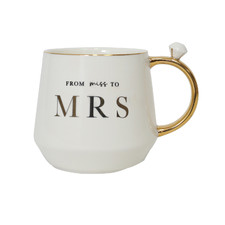 Miss To Mrs. 500ml Ceramic Mug